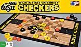 MasterPieces NCAA Wichita State Shockers Basketball Checkers Board Game