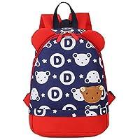 Uworth Cute Bear Kids Backpack Boys Toddle Rucksack Nursery with Reins Deep Blue