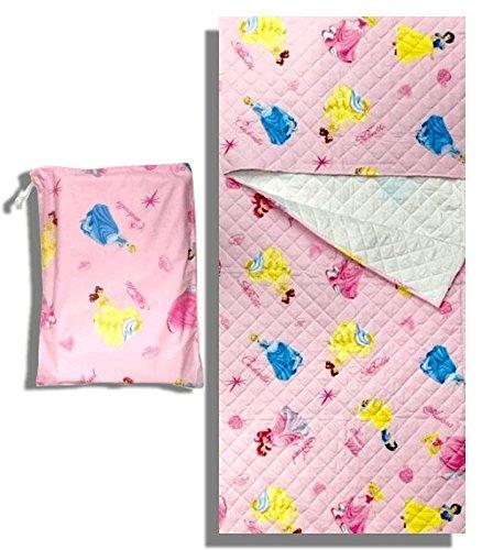Set Kindergarten Disney Prinzessinnen Pink Schlafsack + Tasche ASYL-2-6Jahre (Prinzessin Schlafsack)