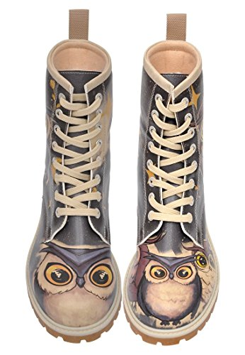 Dogo Boots Owls Family – Damen-Stiefel - 6
