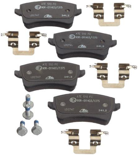Preisvergleich Produktbild ATE 13.0470-2747.2 Bremsbelagsatz, Scheibenbremse