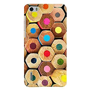 ColourCrust Huawei Honor 6 / Dual Sim Mobile Phone Back Cover With Colourful Pattern Style - Durable Matte Finish Hard Plastic Slim Case