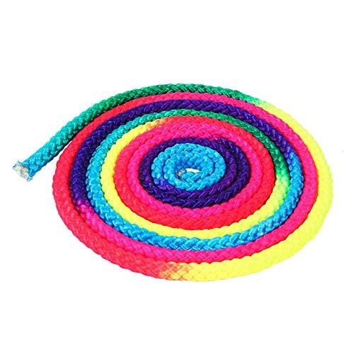 Keenso Cuerda de Gimnasia del Arco Iris