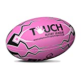 Rhino Pink Touch Rugby League Rugby Ball | RRL-TOUCH-PK - RHINO - amazon.co.uk