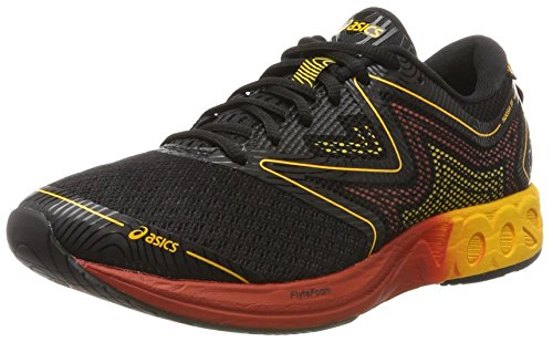 ASICS Men's Noosa FF Black/Gold Fusion/Red Clay Running Shoes - 9 UK/India (44 EU)(10 US)