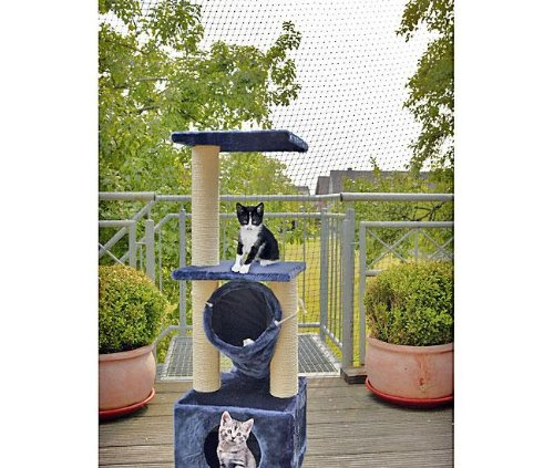 katzeninfo24.de Karlie Katzenschutznetz, Netz zum Schutz für Katzen für Garten und Balkon