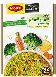Maggi Broccoli & Cheddar Rice Meal Kit Pack, 21