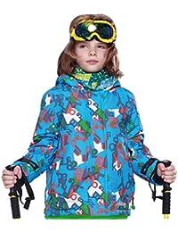 Dooret New Boy Ski Coat Jacket Snow Winter Kids Tamaño Al Aire Libre A Prueba de
