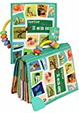 #8: TEYTOY Baby Toy Soft Infant Activity Baby Toys, My First Word Book to Knowing The World