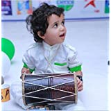 Grow with Fun Toys Wooden Dhol For Kids
