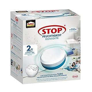 Pattex Stop Feuchtigkeit Pearl Luftentfeuchter Nachfüllpack / Gegen Feuchtigkeit und schlechte Gerüche / Geruchsneutralisierung bis zu 70% / 2 Nachfülltabs (2 x 300g)