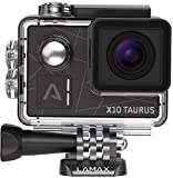 LAMAX X10 Taurus Action Kamera True 4K Full HD Electronic Image Stabilization, WiFi, 12MP, 170 Grad...