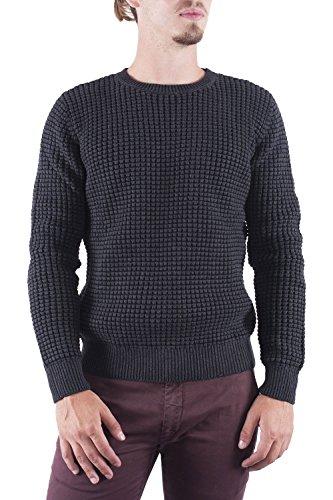 ANTONY MORATO - Herren roundhals sweater mmsw00619/ya100027 Dunkelgrau