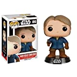Funko 6562 - Star Wars Episode VII, Pop Vinyl Figure 86 Han Solo Snow Gear, 10 cm