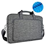 WIWU 15,6 Zoll Segeltuch Aktentasche Laptop Tasche Beutel
