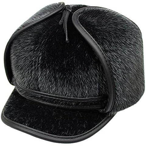 uomini di pelliccia di visone finto Lei Feng Cap/Cappelli casuali
