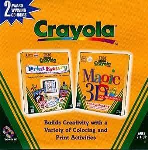 Crayola magic 3d colouring book print factory Crayola magic 3d coloring book amazing animals