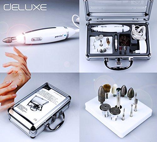 prorelax Maniküre-Pediküre-Set DELUXE - Professionelle Hand- und Fußpflege für zuhause und unterwegs