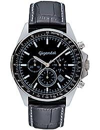 Gigandet Volante Herren Armbanduhr Chronograph Analog Quarz Schwarz G3-001