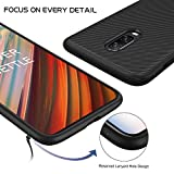 iBetter Oneplus 6T Case, Premium Soft TPU Gel Oneplus 6T Cover with [Anti-Slip] [Ultra-Thin] for Oneplus 6T Smartphone, Black