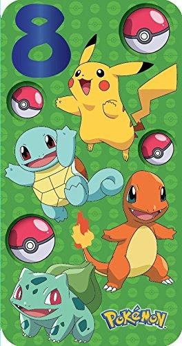 Pokemon-Karte, zum 8. Geburtstag.