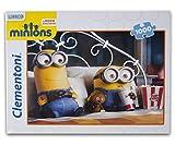 Clementoni 98617 - Minions Puzzle 1000 Teile Fernsehabend Glückliche Familie
