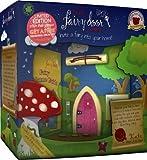 Fairy door Limited Edition The Irish Company - Set di porte ad arco rosa scintillante