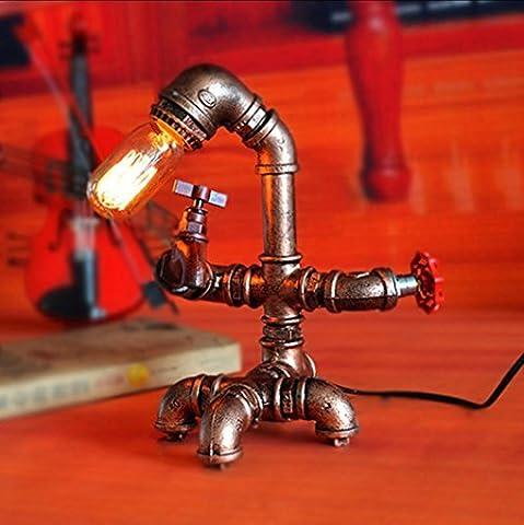 BD-Metall-Knopf-Lampen-Café Retro dekorative Wasser-Rohr-kreative kreative Beleuchtung