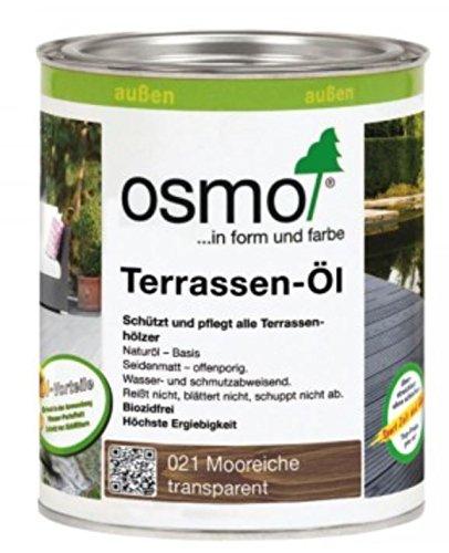 Preisvergleich Produktbild Osmo Terrassen-Öl 021 Mooreiche 2,5 Liter Gebinde