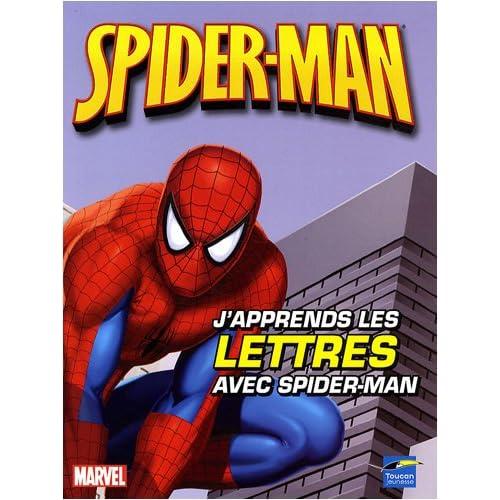 J'apprends les lettres avec Spider-Man