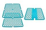 Pamex – Set mit 2 Schutzblechen für Spülbecken + Abdeckleiste