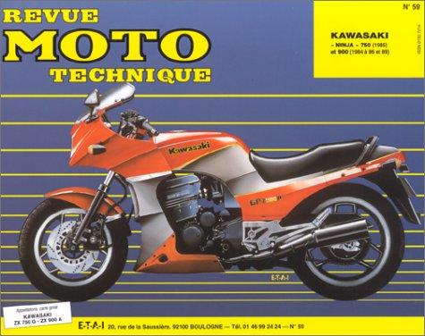 Revue technique de la Moto, N° 59.2 : Kawasaki Ninja ZX 750 g2-ZX 900a1-a2, 1984-1985