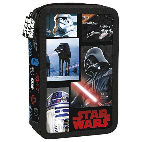 Unbekannt Star Wars Doppeldecker Federmappe, Mäppchen