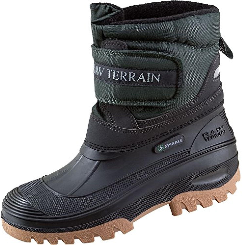 Terrax 70316 – 45 – 1000 Spiral botas de invierno corto talla 45 NEGRO