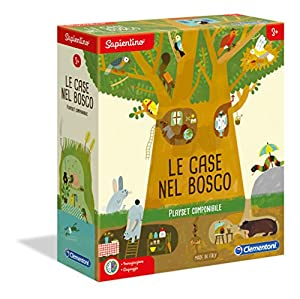 Clementoni-16198-Sapientino-Le Case nel Bosco, Juego Educativo, Multicolor, 16198