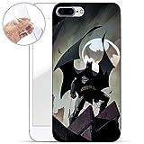 Finoo IPhone 7 Plus/8 Plus TPU Handyhülle Made In Germany Hülle mit Motiv für Optimalen Schutz Silikon Tasche Case Cover Schutzhülle für Dein IPhone 7 Plus/8 Plus - Batman Comic Style