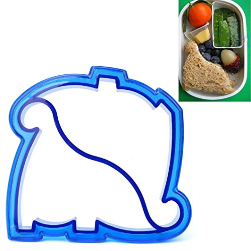 Sandwich Formen, Transer® Kinder DIY Mittagessen Sandwich Toast Cookies Form Kuchen Brot, Kekse Lebensmittel Cutter Form Sandwich Formen, Silikon, Style #04, Size: 9x10x2cm
