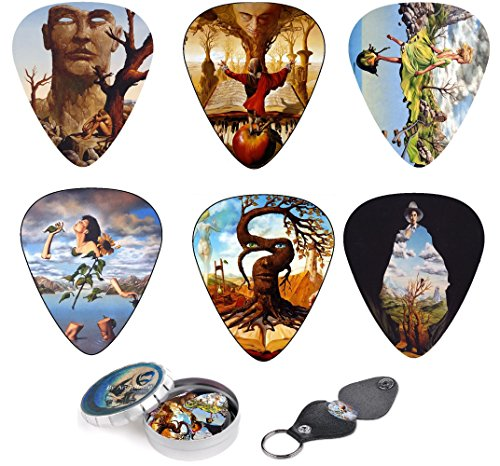 unique-mdiators-pour-guitare-premium-gift-set-of-12-picks-with-stunning-surreal-artwork-inspired-by-