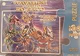 Puzzle Cavalieri dello Zodiaco 100 pz 49x36