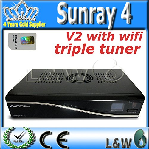 Sunray SR4 v2 triplo sintonizzatore SR4 V2 Wifi 3...