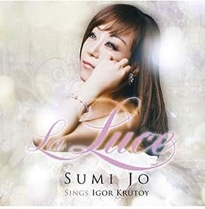 SUMI JO - LA LUCE: SINGS IGOR KRUTOY [CD] + FREE GIFT (Softbay Mask Pack Sheet)