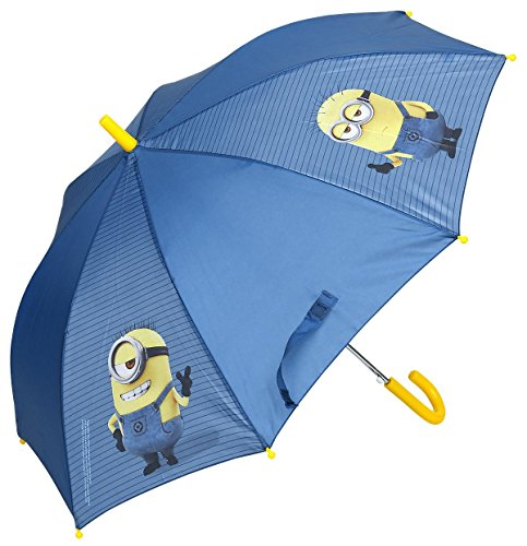 Paraguas azul de Los Minions