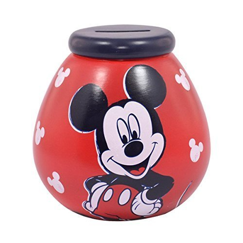 Image of Pot of Dreams - Mickey Mouse - Ceramic Money Pot by Pot Of Dreams