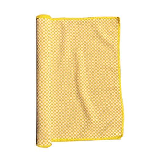 Haushalt Kühltücher Sommer Bewegung für sofortige Abkühlung Erleichterung Kühlen Nackenwickel Eiskalter Schal für Lauftraining Yoga Bewegung Reisen Camping Pliates Fitness & Gym ( Color : Yellow ) -