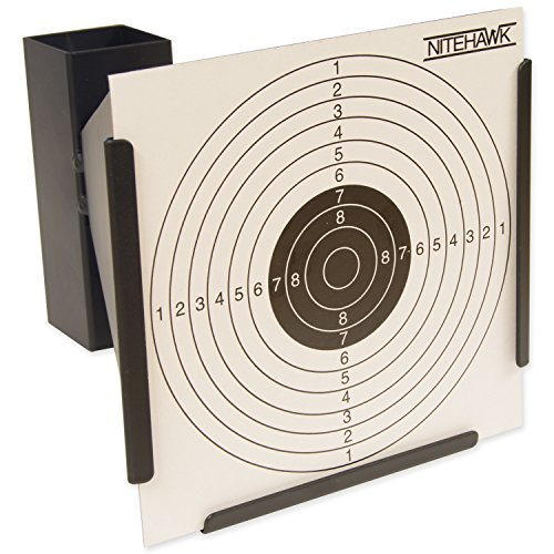 nitehawk-14cm-funnel-target-holder-100-targets-air-rifle-pellet-trap-shooting-airsoft