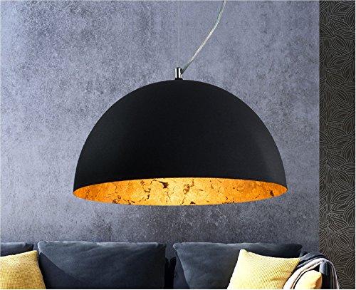 Luxus Hängelampe | Hängeleuchte Studio | Retro | Vintage | Used look | Deckenlampe | Gold |...