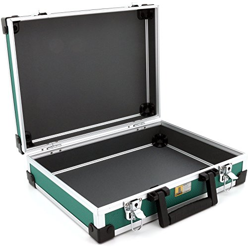 Allit Aluminium Koffer Basic L35 Grün Typ 424130 - 3