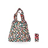 Reisenthel mini maxi shopper Borsa Messenger, 60 cm, 15 liters, Multicolore (Happy Flowers)