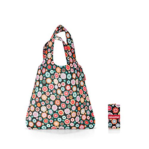 Reisenthel Mini Maxi Shopper Umhängetasche, 60 cm, 15 L, Happy Flowers