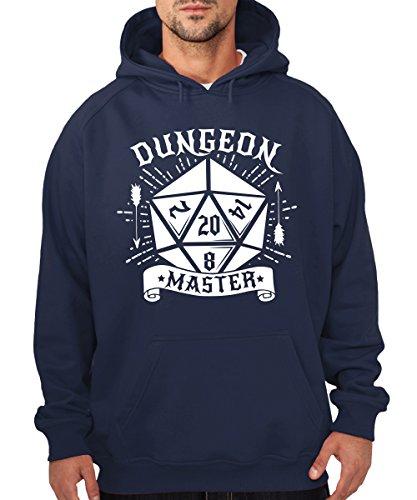 -- Dungeon Master -- Boys Kapuzenpullover Navy
